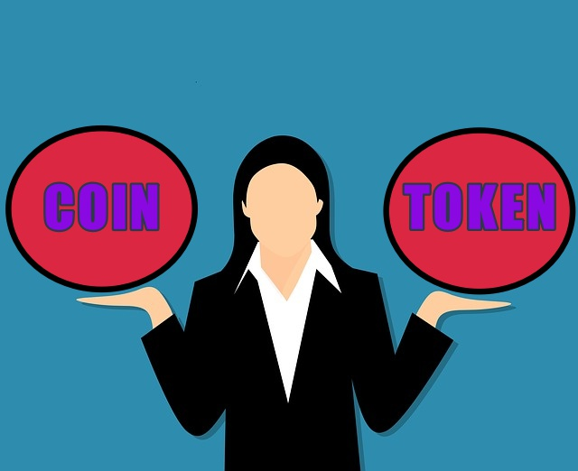 difference between coin and token in cryptocurrency