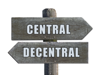 central and decentral exchange difference