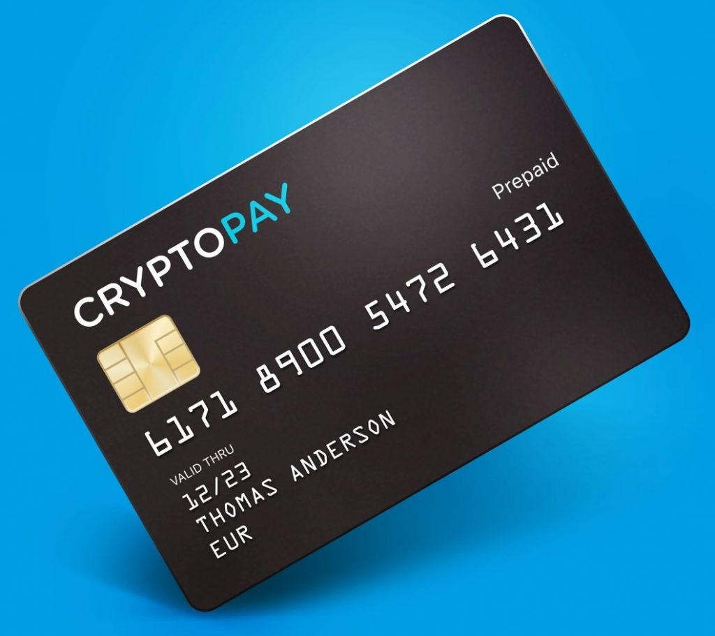 cryptopay debit card