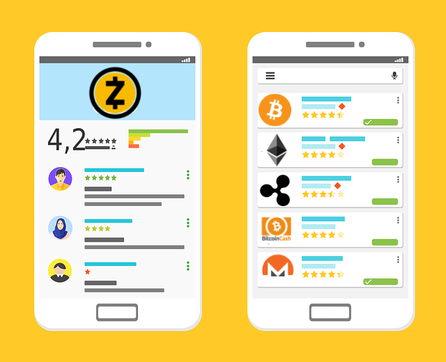 Most popular cryptocurrency apps